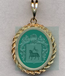 #87 with Green Onyx for Agnusdei