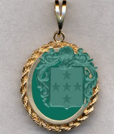 #87 with Green Onyx for Alaudete