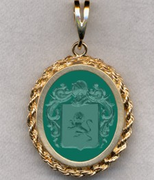 #87 with Green Onyx for Bayeux
