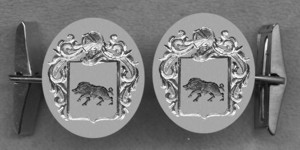 #42 Cuff Links for Boar