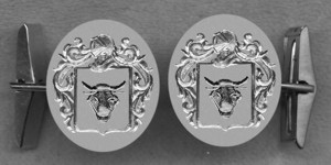 #42 Cuff Links for Bull