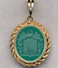 #87 with Green Onyx for Canal