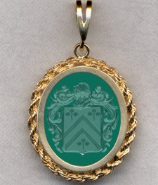 #87 with Green Onyx for Cardonnel