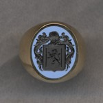 #5 with Bicolor Agate for Champion