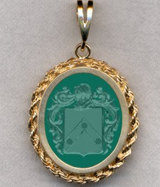 #87 with Green Onyx for Coghill