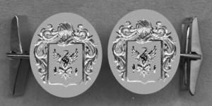 #42 Cuff Links for Falconery