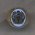 #5 with Bicolor Agate for Finnarty