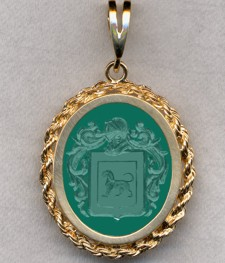 #87 with Green Onyx for Furnese