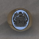 #5 with Bicolor Agate for Furnese