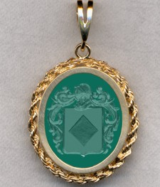 #87 with Green Onyx for Graveneck