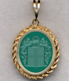 #87 with Green Onyx for Hadshall