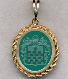 #87 with Green Onyx for Halfpenny