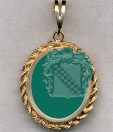 #87 with Green Onyx for Hansted