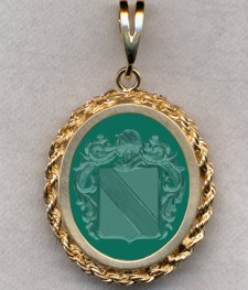 #87 with Green Onyx for Holnstain