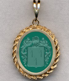 #87 with Green Onyx for Iberg