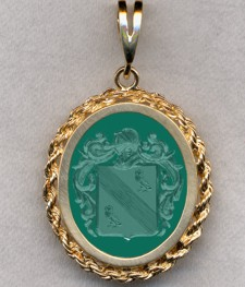 #87 with Green Onyx for McTaggart