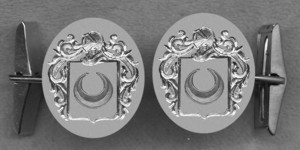 #42 Cuff Links for Moustier