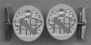 #42 Cuff Links for Newnham