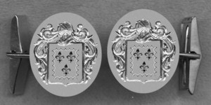 #42 Cuff Links for Pagan