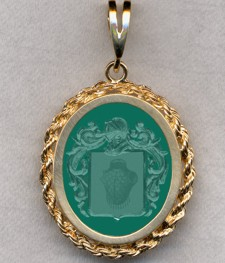 #87 with Green Onyx for Palazzuol