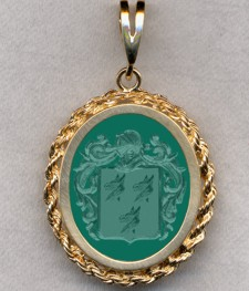 #87 with Green Onyx for Pope