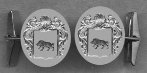#42 Cuff Links for Porcelet
