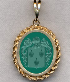 #87 with Green Onyx for Poret