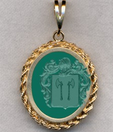 #87 with Green Onyx for Poterne