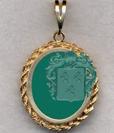 #87 with Green Onyx for Pradier