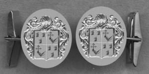 #42 Cuff Links for Queen