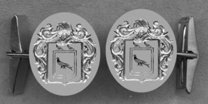 #42 Cuff Links for Rurherford