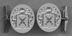 #42 Cuff Links for Sevington