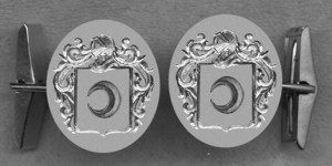 #42 Cuff Links for Silber