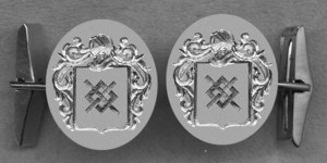 #42 Cuff Links for Skiers