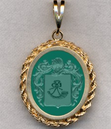 #87 with Green Onyx for Stempshorn
