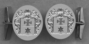 #42 Cuff Links for Stjernkors