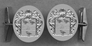 #42 Cuff Links for Swan