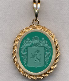 #87 with Green Onyx for Tripiere