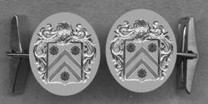 #42 Cuff Links for Wykeham