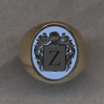 #5 with Bicolor Agate for Zeta