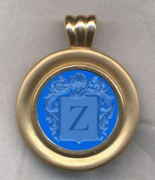 #76 with Blue Onyx for Zeta