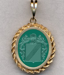 #87 with Green Onyx for Zulievich