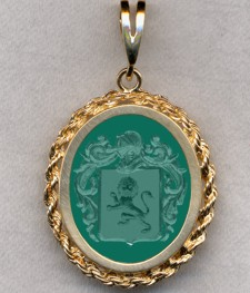 #87 with Green Onyx for Zwaenenburgh