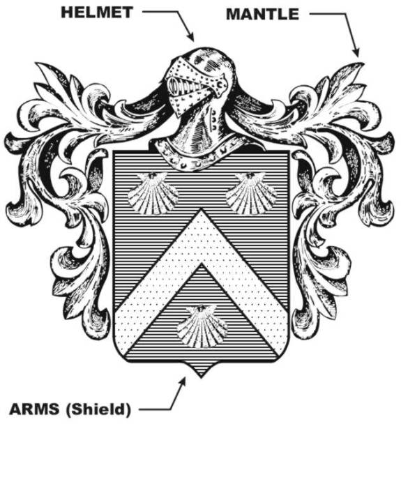 Sample coat of arms.