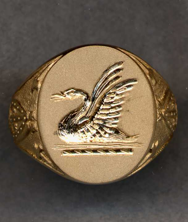 Gold Crest Ring from our 2500 Gold Crest Ring Collection.
