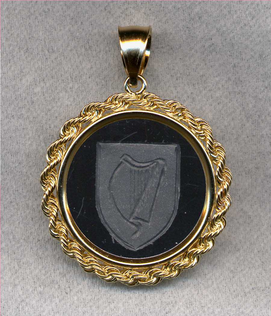 National Coat of Arms Stone Jewelry by Heraldica Imports