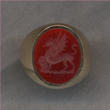 2700 Crest Stone Ring Collection for Ladies by Heraldica Imports